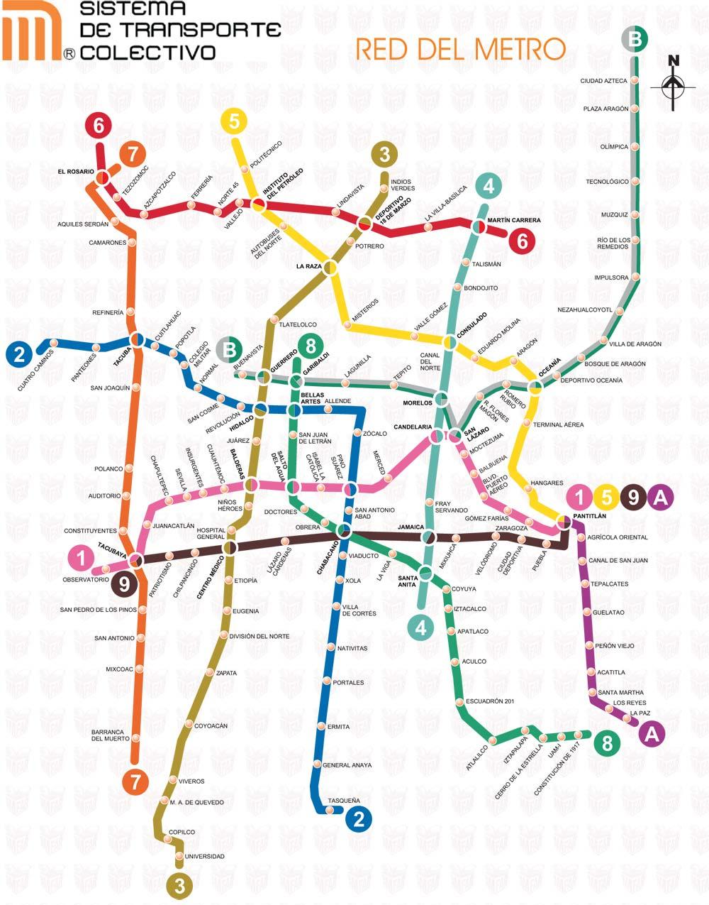 El Metro de La Cd. De Mexico